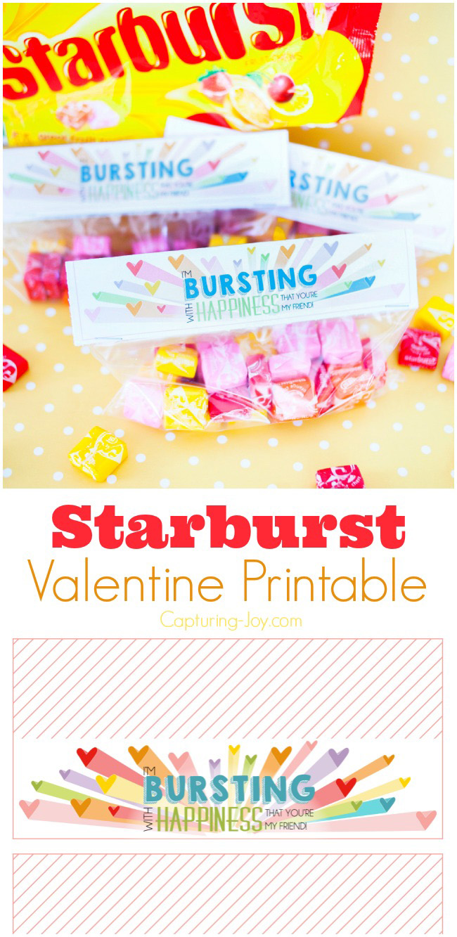 Starburst Valentine's Day gift idea