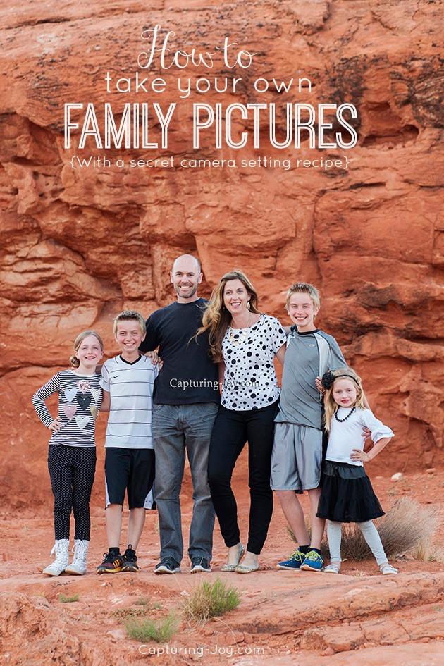Take your own family photos