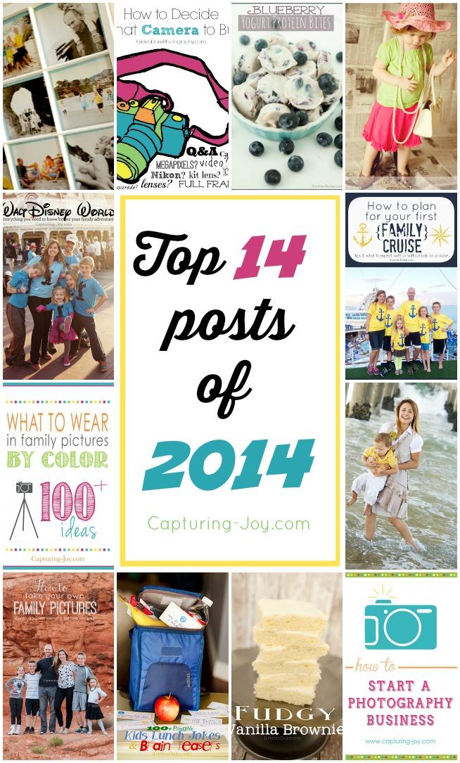 Top 14 posts of 2014