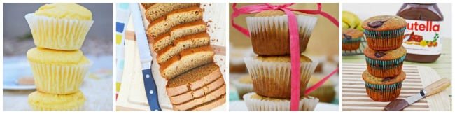 gluten free bread and muffins