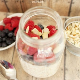 3 ingredient overnight oats