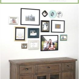 Family Photo Gallery Wall