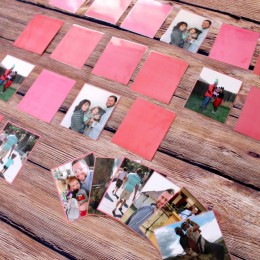 Family Picture Match Game for Kids