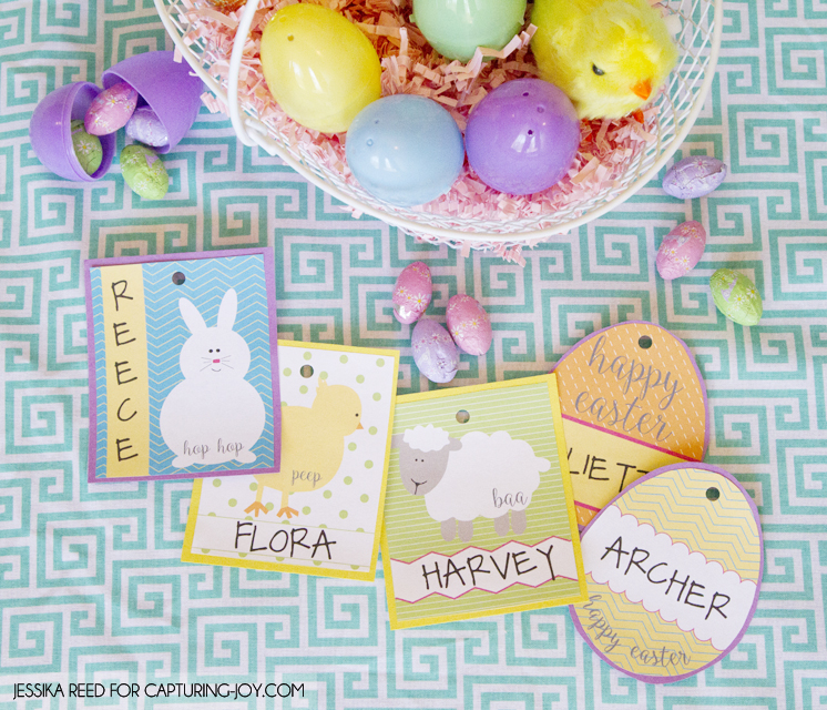 Free easter basket gift tags capturing joy with kristen duke free easter basket gift tag printables 2 hipandsimple negle Images