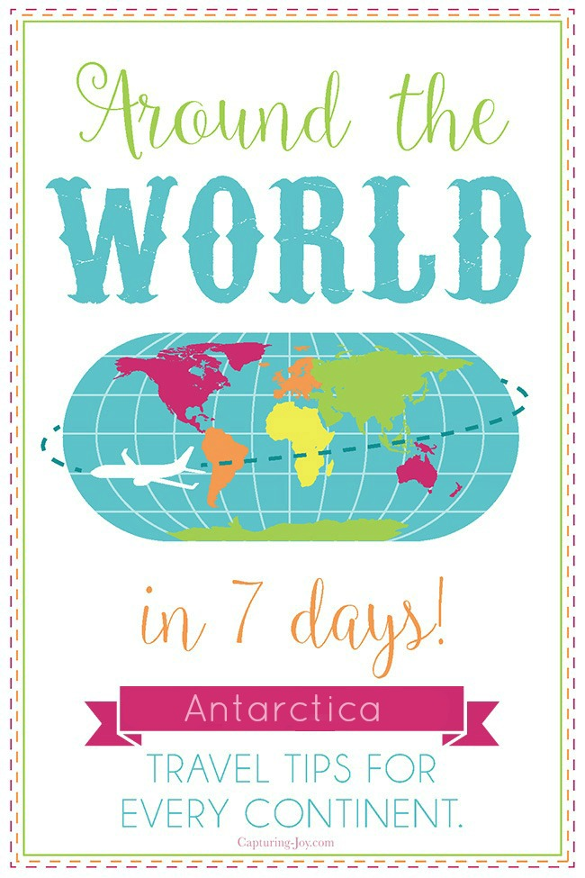 Around the world in 7 days travel tips to Antarctica