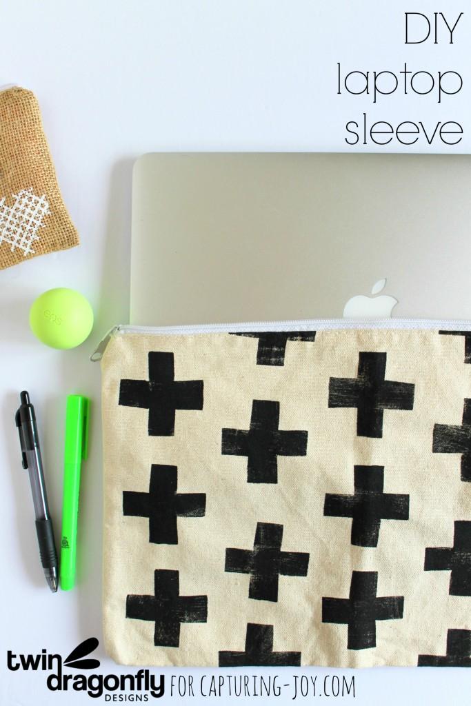 DIY Laptop Sleeve