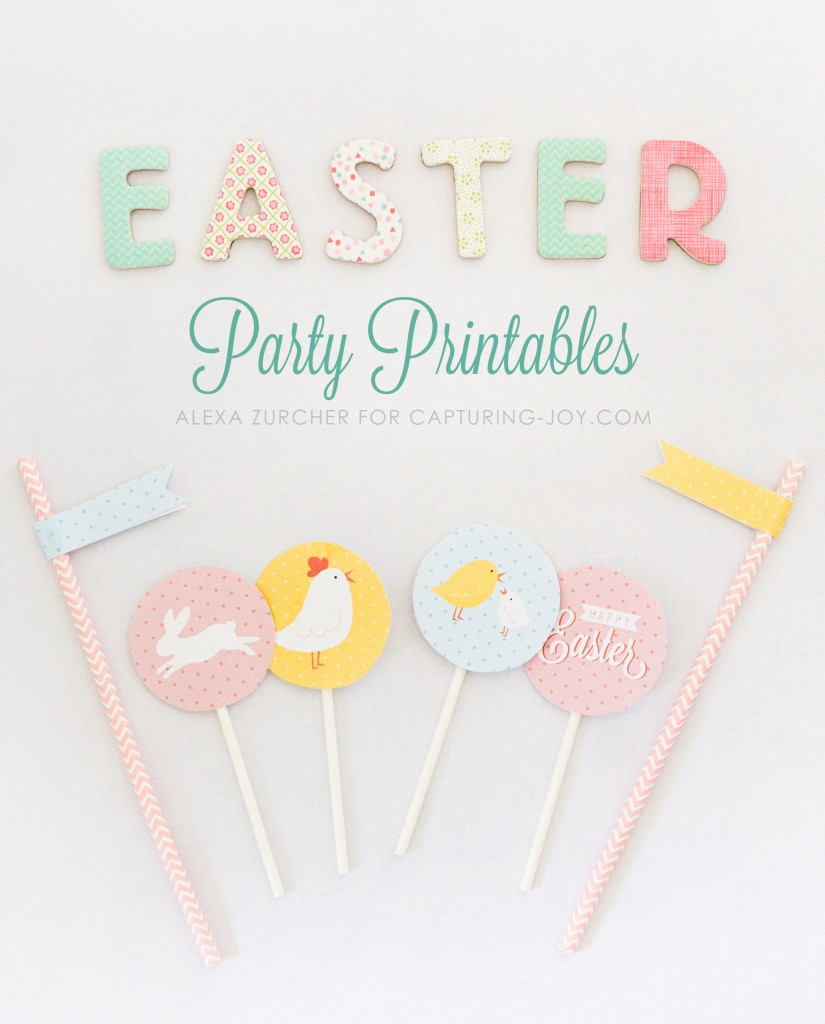 Easter Party Printables (2)