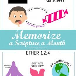 Memorize Scriptures