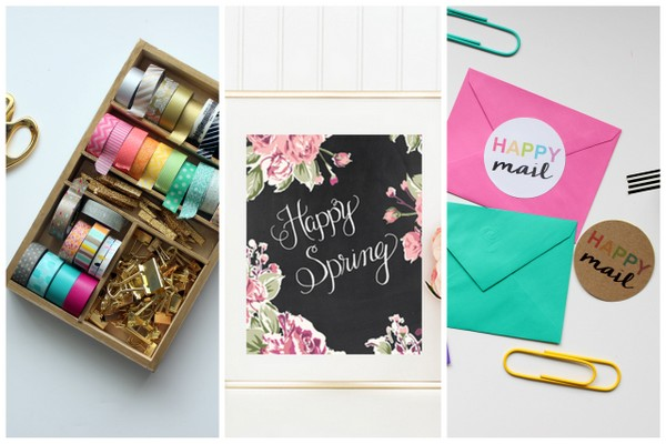 Spring Printables + Tech Pretties! | Two free Spring/Easter Prints + a Facebook Cover Photo and Computer Wall Paper to dress up your tech! | Capturing-Joy.com