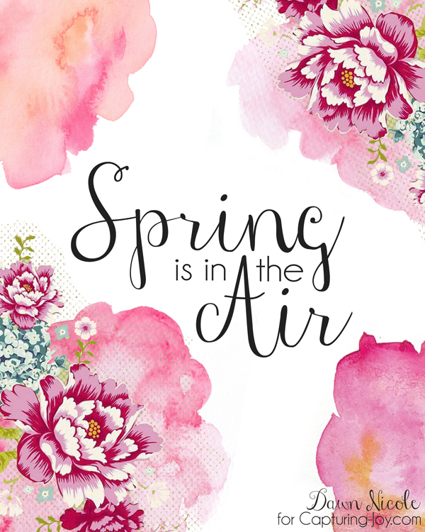 Geeky image with regard to printable spring pictures