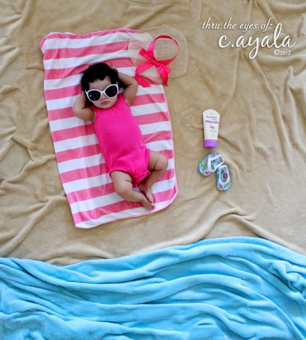 baby picture ideas on the beach