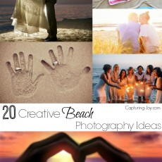 20 Creative Beach Photography Ideas on Capturing-Joy.com