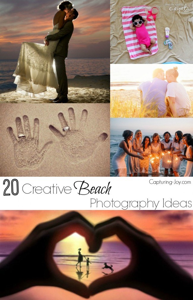20 Fun And Creative Beach Photography Ideas