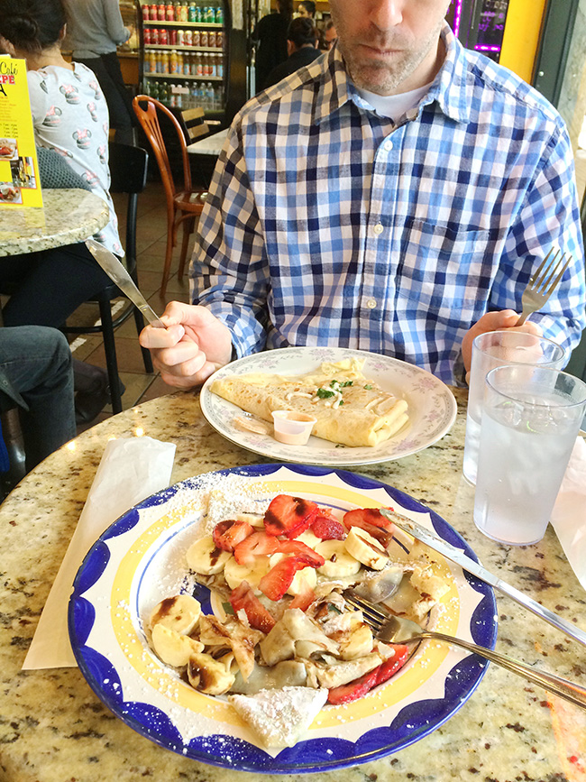 cafe creperie in austin