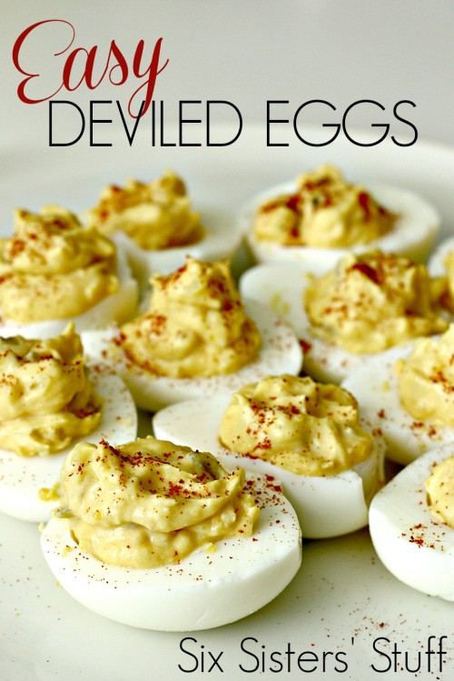 Easy Deviled Egg recipe plus 19 other Egg Recipes on Capturing-Joy.com