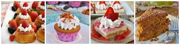Gluten free breezy bakes spring desserts