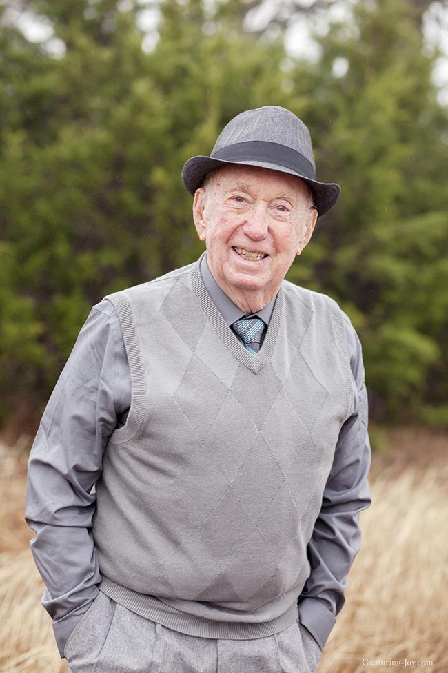 grandpa at 90