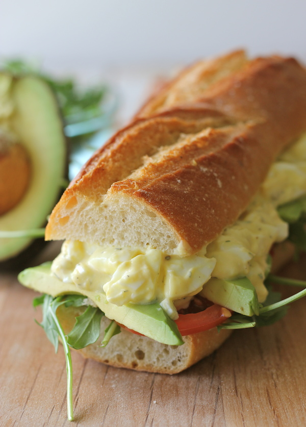 Greek Yogurt Egg Salad Sandwich plus 19  other  Egg Recipes!  Capturing-Joy.com