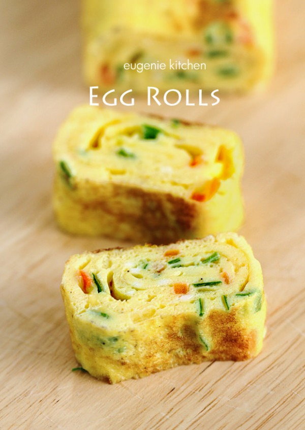Korean egg rolls plus 19 other Egg Recipes on Capturing-Joy.com