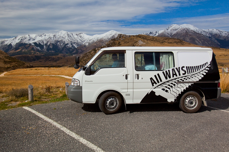 new zealand campervan