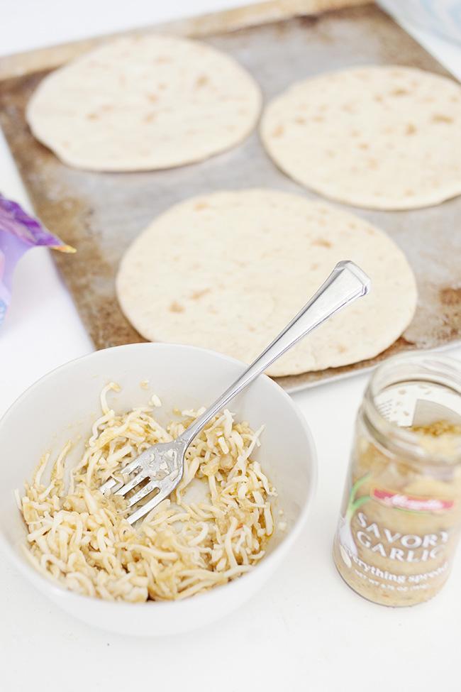 savory garlic spread