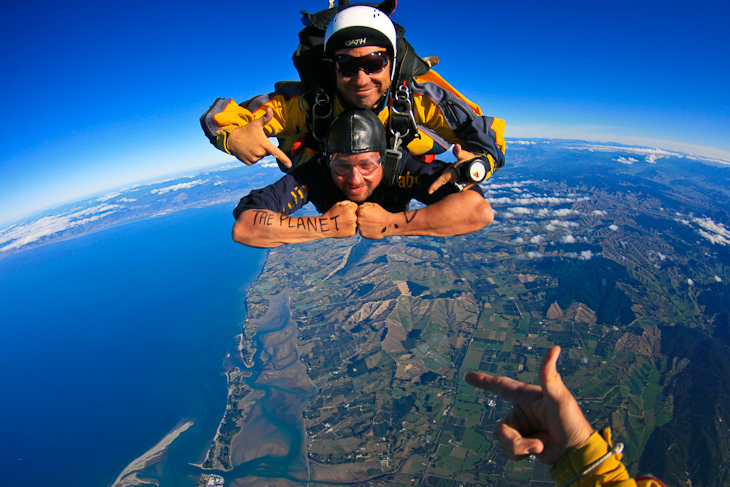 skydive new zeland