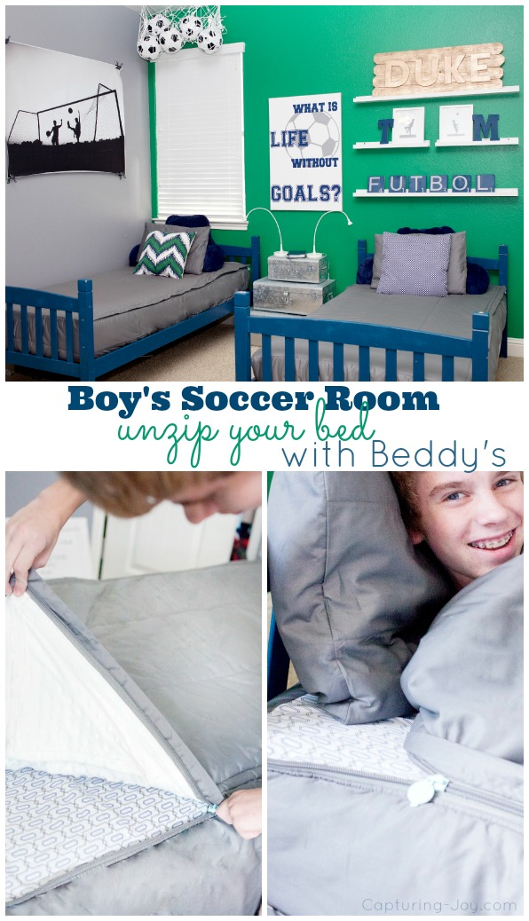 Soccer Futbol Room Ideas