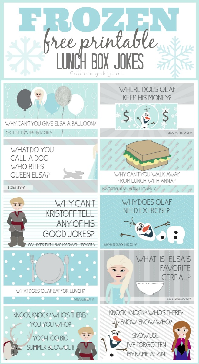 Disney FROZEN Jokes - Capturing Joy with Kristen Duke