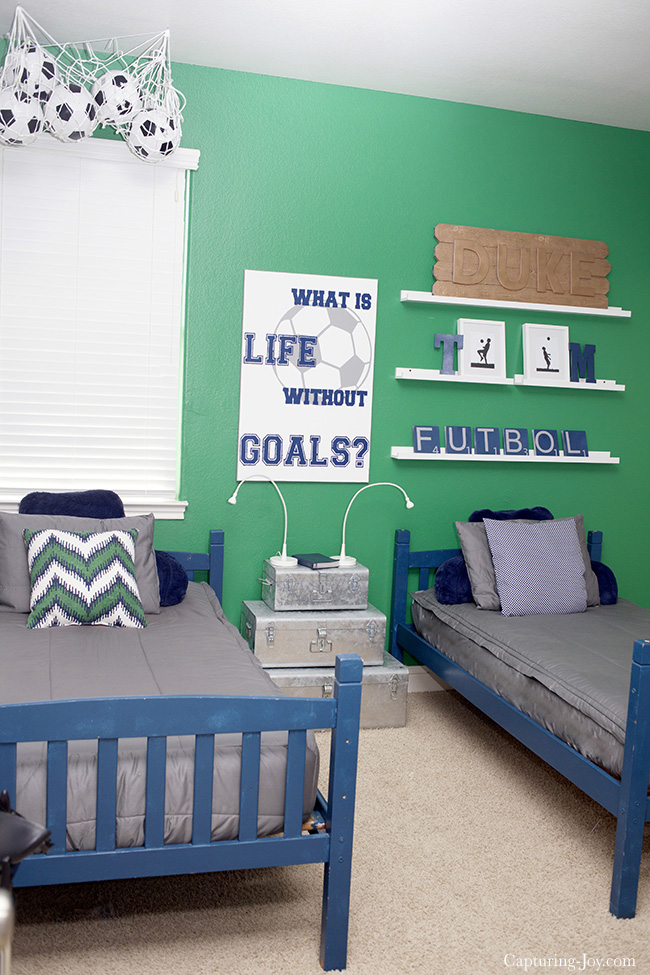 Soccer Boys Room Ideas
