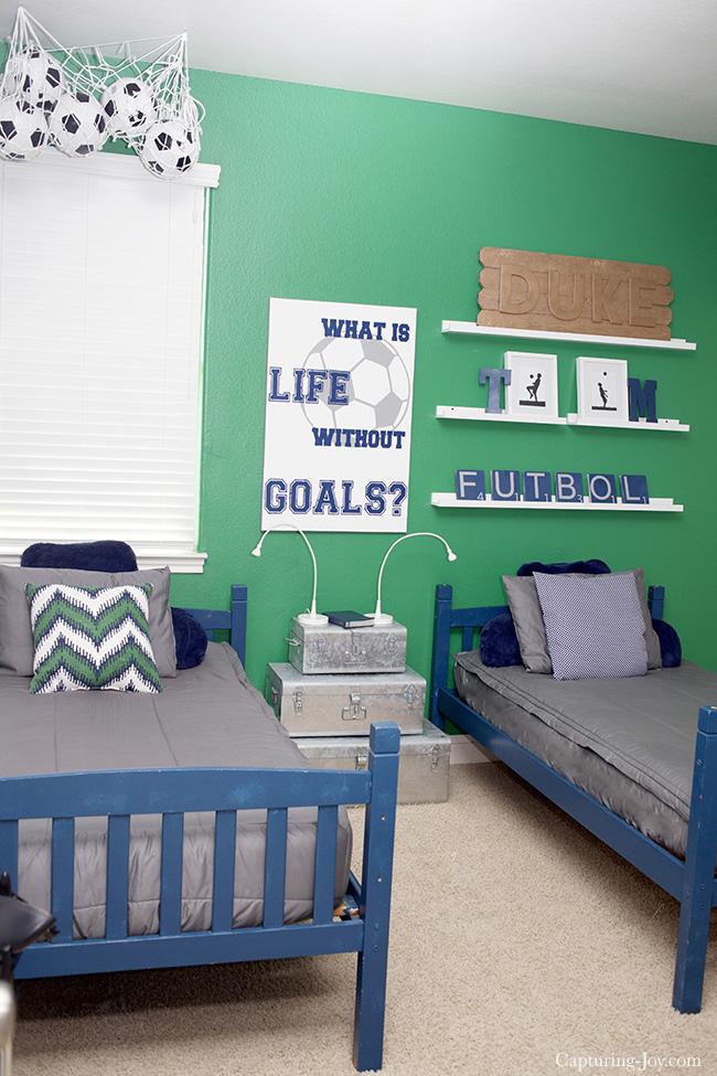 Soccer Boys Room Ideas