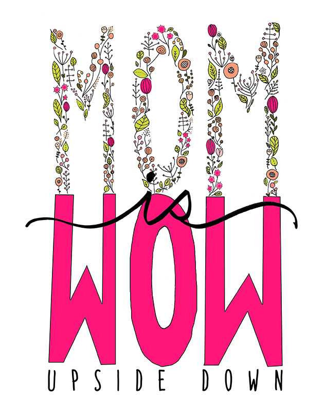 Mom is Wow Mother's Day Printable