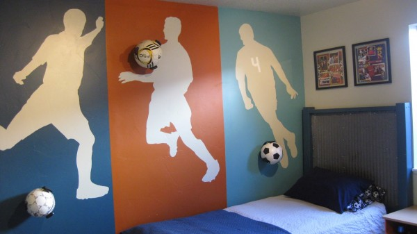 Ordinaire 10 Boys Soccer Room Ideas! From Paint To Decor, To Furniture!