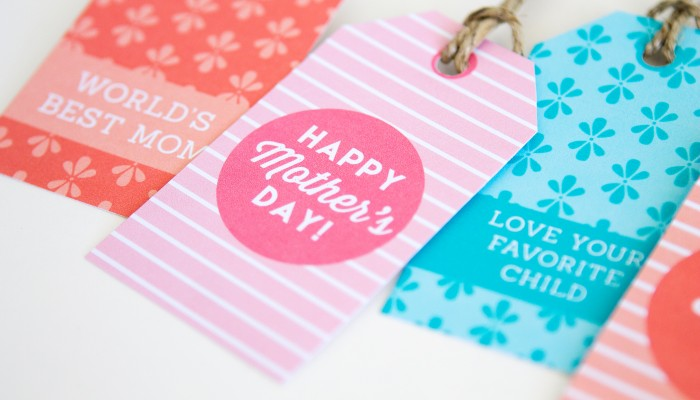 Gift Tags for Mother's Day