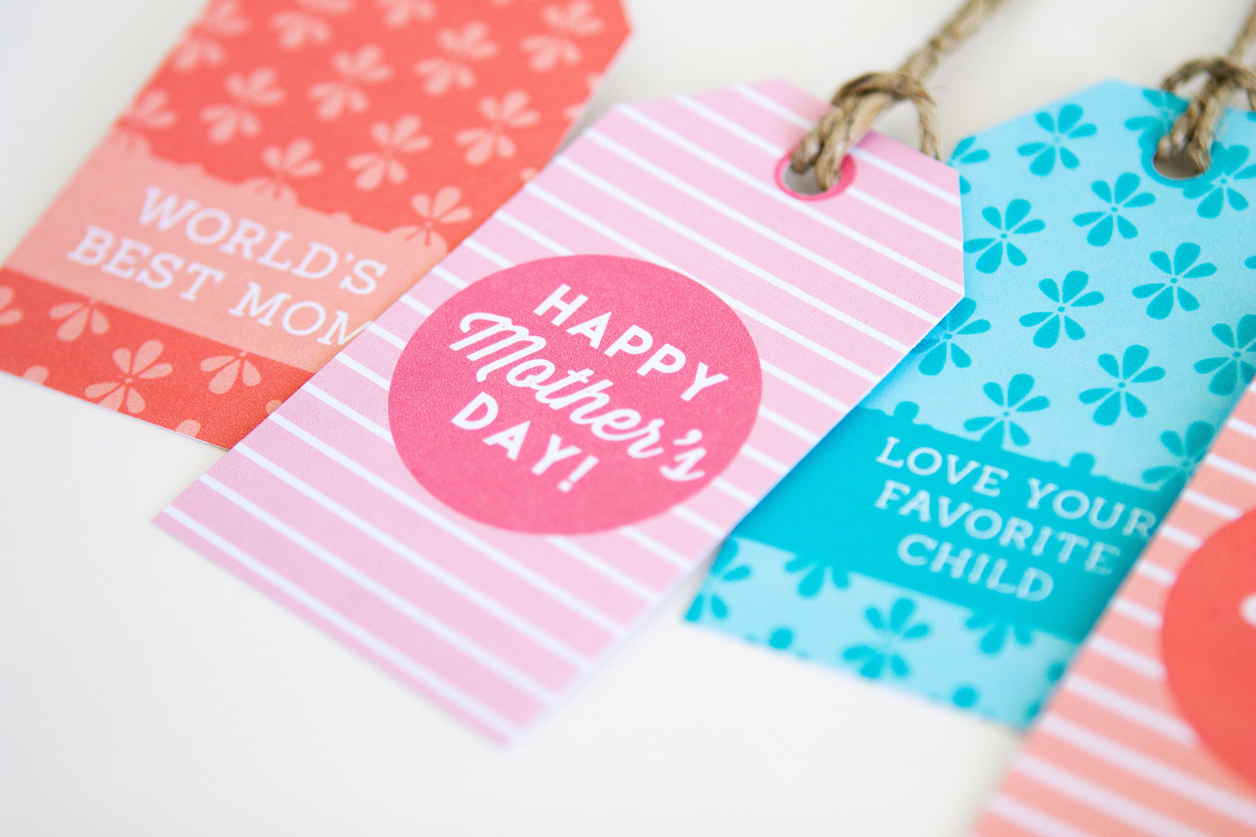 Mother S Day Tags: Printable Mother's Day Gift Tags