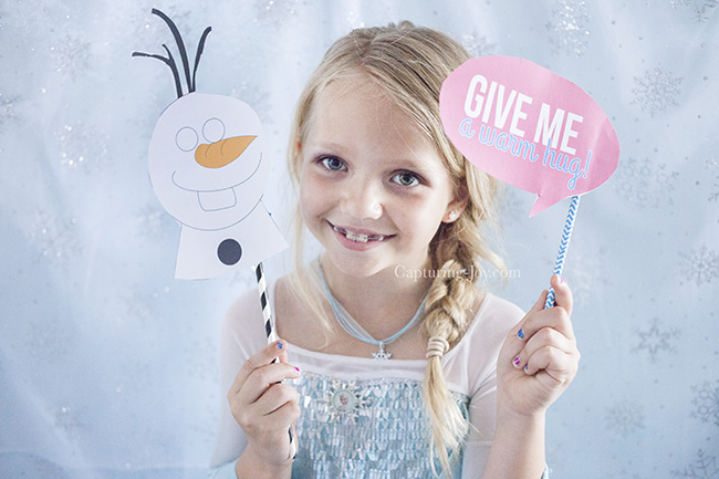 olaf photo booth