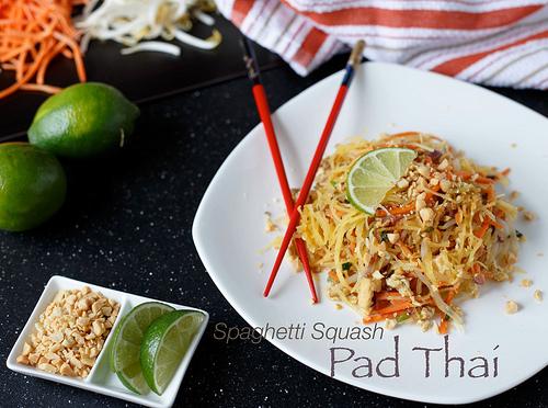 Spaghetti Squash pad thai Recipe in Capturing-Joy.com
