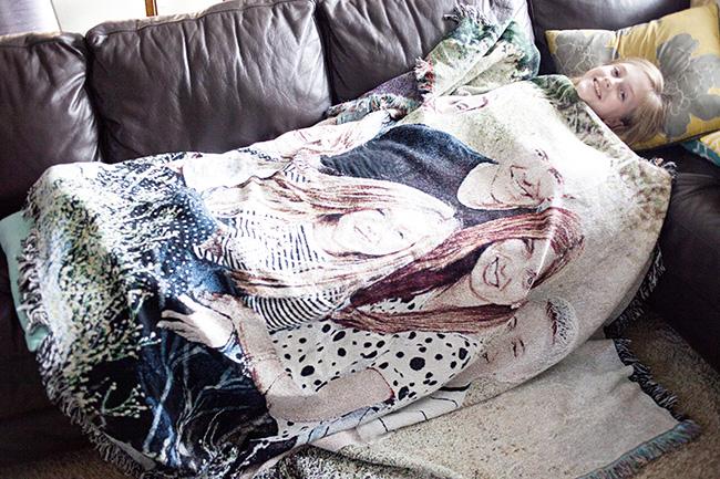 shutterfly photo blanket