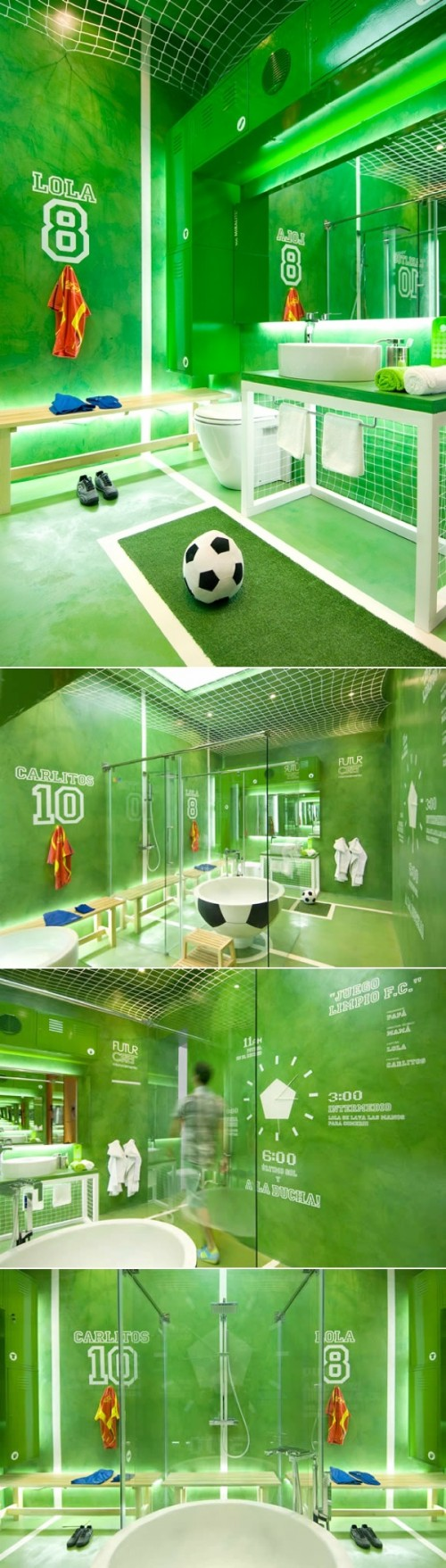 Soccer ball craft ideas - 10 Boys Soccer Room Ideas From Paint To Decor To Furniture