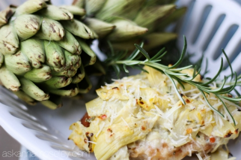 Creamy Artichoke Chicken Recipe