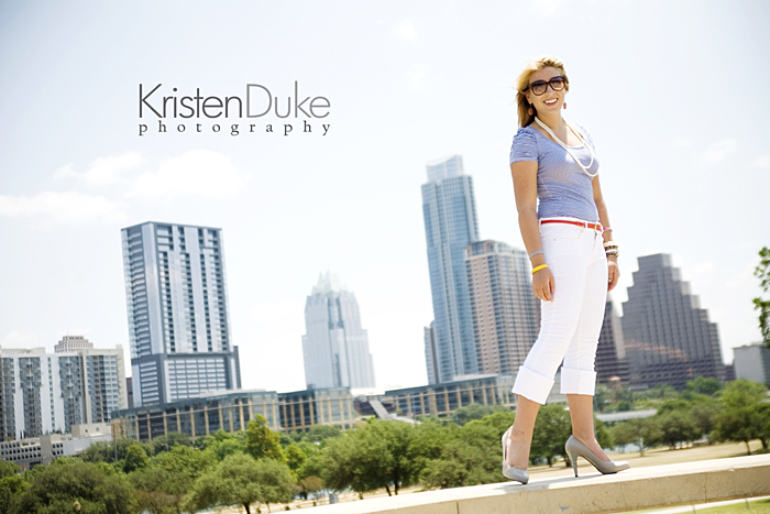 Austin skyline senior pictures