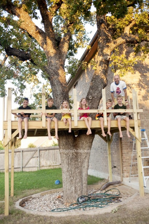 Do-It-Yourself-Treehouse