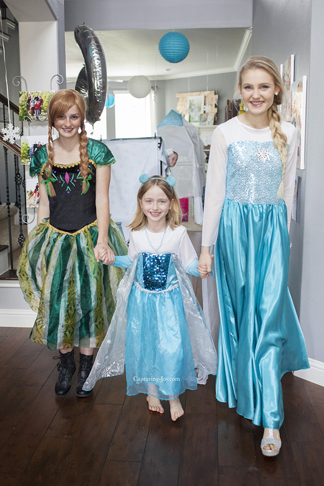 Frozen Birthday Party Princesses