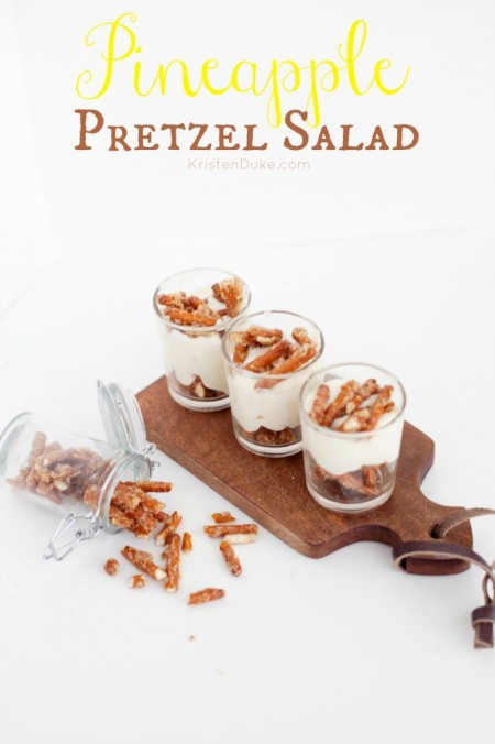 15 Summer Treat Recipes: Pineapple Pretzel Salad