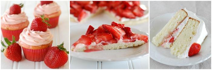 Strawberry Desserts from creationsbykara.com