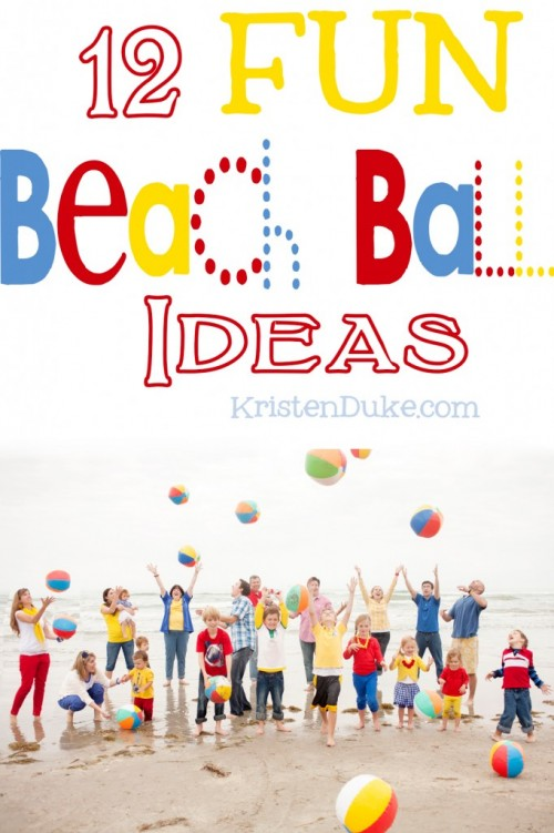 15 Summer Activities for Kids: Beach Ball Fun