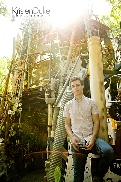 cathedral of junk senior pictures