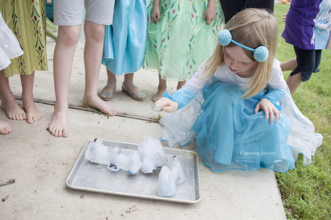 frozen party ice game