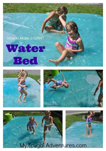 15 Summer Activities for Kids: DIY Giant  Water Bed