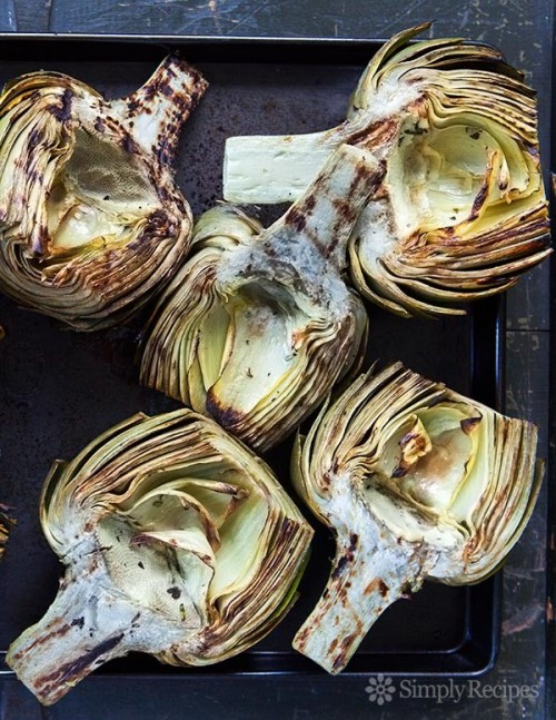Grilled Artichoke recipe