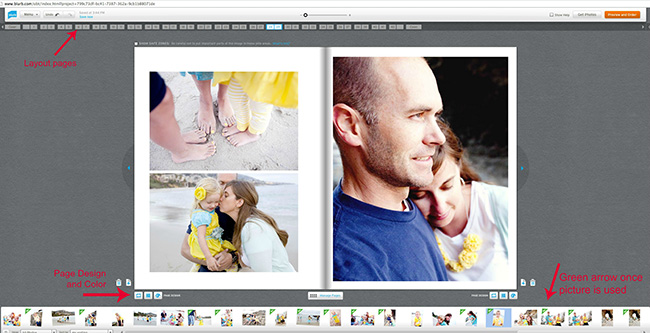 how to make a digital photo album tips